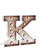 Стальная Буква K (12022)