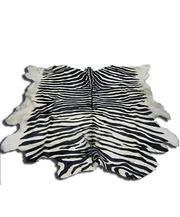 Шкура под зебру бело-черная (49)