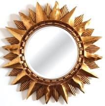 Зеркало-солнце Sol Gold (Солнце), (PRFA045GL)