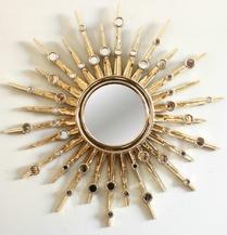 Зеркало-солнце Nova Gold Plating (Нова) (PUMH176GD)