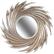 Зеркало в раме модерн Tornado Silver (Торнадо) (PRFA397SL)