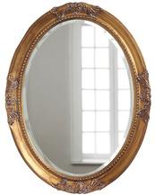 Овальное зеркало в раме Parigi Gold (Париж), (PRFA398GL)
