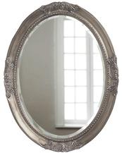 Овальное зеркало в раме Parigi Silver (Париж), (PRFA398SL)