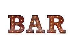 Сочетание букв BAR (12008)