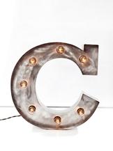 Стальная Буква C (12014)