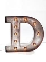Стальная Буква D (12015)