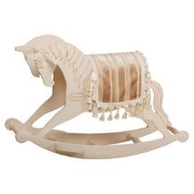 Качалка «Лошадь» - белая большая (71027 White )