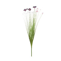 Стебли травы с бабочками(8J-15AB0002)