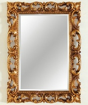 Зеркало в резной раме Oxford Gold (Оксфорд),  (PUMH2017GL)