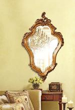 Зеркало в резной раме Lady (Леди),  (PRFA230GL)