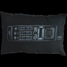 Подушка интерьерная Черно-белое 19 (В0266)
