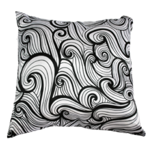 Подушка интерьерная Черно-белое 06 (А0166)