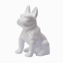 """Скульптура """"Собака"""" белая (PS1186)"""