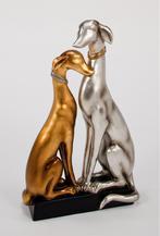 """Скульптура """"влюбленные собачки"""" (ART-1964-PF  )"""