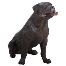 """Скульптура """"Очень добрая собака"""" (77047 Ш)"""