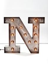 Стальная Буква N (12024)