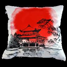 Подушка интерьерная Япония 03 (А0041)