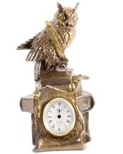 """Часы """"Ученый филин"""" (41043 Б)"""